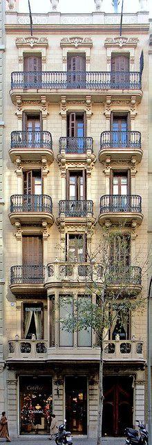 Casa Bohera - Blay  1900  Architect: Telm Fernàndez i Janot
