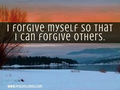 Forgive yourself with these power affirmations and let go of your past mistakes to free your mind and body.