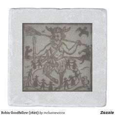 Robin Goodfellow (1620) Stone Coaster