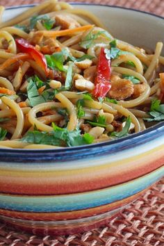 """Thai-Inspired Noodle Salad 
