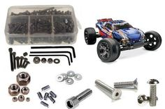 TRA023 SS Screw Kit Rustler VXL by RC Screwz. $24.20. Traxxas Rustler VXL Stainless Steel Screw Kit -   RCScrewZ Stainless Screw Kits are 100% complete. Your new kit will include everything needed to do a full conversion and more.  Stainless Steel Screw Kits are far superior to the screws that come stock with your RC. Our kits are made with the best stainless steel money can buy. No more bent, rusted, or corroded screws. Never worry anout stripped heads again. You will not fi...