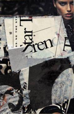 "Saatchi Art Artist Joan Schulze; Collage, ""Invisible Strings"" #art"