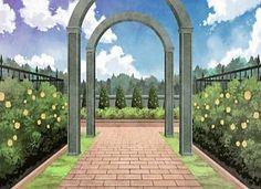 Florest and Garden, Background, Anime Background, Anime Scenery, Visual Novel…