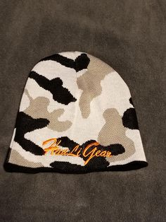 Stretchy Cuff Beanie Hat Black Skull Caps Pockets Skateboarding Corgi Winter Warm Knit Hats