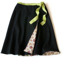 DIY Wrap Around Skirt Tutorial - J Fabrics Store Newsletter Blog