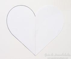 Cómo hacer un cojín corazón sin costuras - Guía de MANUALIDADES Ideas Para, Crochet, Diy, Home Decor, Bedspread, Cushion Covers, Bedspreads, Hand Embroidery, Decoration Home