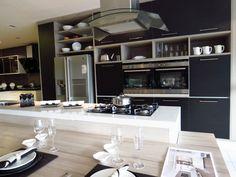 Resultado de imagem para cozinha com silestone branco