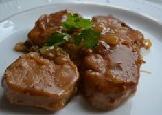 le Sauces, Meat Steak, Spanish Food, Canapes, Pork Recipes, Meatloaf, Bon Appetit, Crockpot, Food And Drink
