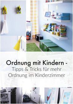 Ordnung mit Kindern - Tipps und Tricks für mehr Ordnung im Kinderzimmer