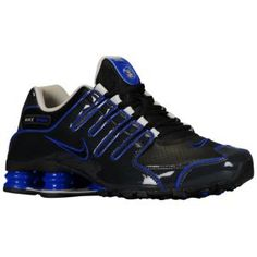 Nike Shox Nz Black Blue