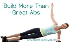 Build More Than Great Abs Helpful, Easy To Follow Infographics #exercise#weightloss