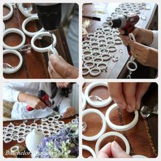 Batchelors Way: DIY Ceiling Fan Chandelier! Chandelier Makeover, Ceiling Fan Makeover, Ceiling Fan Chandelier, Iron Chandeliers, Pvc Pipe Crafts, Pvc Pipe Projects, Cardboard Crafts, Decor Crafts, Diy Home Decor