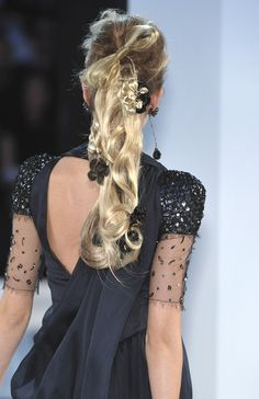 Chanel at Couture Fall 2009 - StyleBistro