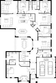 Sandhurst 36 Floor Plan | Eden Brae Homes