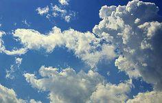 Spring sky.