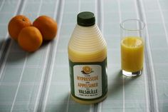 Valsølille appelsinjuice, vildledning, emballage