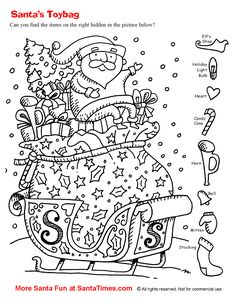 Hidden Picture Puzzles Pages - Hidden Picture Puzzles Pages, Hidden Pictures Printables.highlights In the Classroom.topsy Turvy Land Activities Coloring Pages Poetry and.highlights In the Classroom.hidden Coloring Sheets Pages Christmas Worksheets Kindergarten, Worksheets For Kids, Santa Pictures, Christmas Pictures, Pictures Images, Christmas Activities, Christmas Printables, Christmas Colors, Kids Christmas