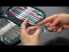 Video Tutorial Uncinetto Mezza maglia alta - half double crochet - Punti base Full HD Ita - YouTube