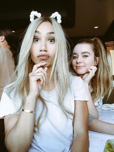 Eva and Sierra♡ My Life As Ava, Savage Squad, Meredith Foster, Eva Gutowski, Alisha Marie, Mylifeaseva, Famous Youtubers, Girl Guides, Best Friend Goals