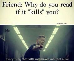 Everything that kills me makes me feel alive... LIFE OF A FANGIRL. ~ The truth…