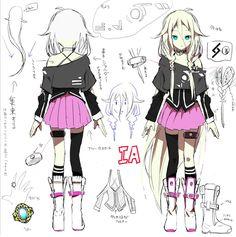 The Vocaloid IA.