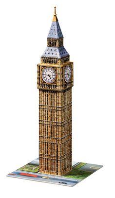 Big Ben | 3D Puzzle Building | 3D Puzzles | Shop | US | ravensburger.com