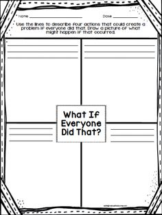 Introducing Rules- use with the read aloud: what if everyone did that? Discuss how laws may keep everyone from doing things that might hurt others. Beginning Of The School Year, First Day Of School, Back To School, School Today, School Stuff, Teaching Social Studies, Student Teaching, Teaching Ideas, Counseling Activities