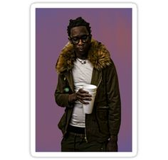 young thug • Also buy this artwork on stickers and phone cases.