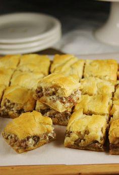 3-Ingredient Crescent Sausage Bites | FaveSouthernRecipes.com