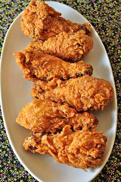 Fried chicken. I love crispy!!