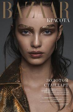 Luma Grothe by Yulia Gorbachenko for Harper's Bazaar KZ