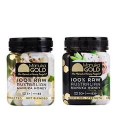 Nature's Gold is delighted to stock our very own Manuka Gold – 100% raw Australian active Manuka honey. Harvested from the East Coast of Australia, every batch is lab tested domestically and awarded a strength rating. Manuka Gold is available in different NPA ratings right up to a very potent NPA20+.  Manuka Gold is also available in a 500g jar.