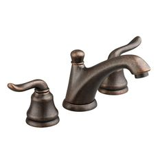 American Standard Princeton 8 inch Widespread 2-Handle Low Arc Lavatory Faucet in Oil Rubbed Bronze 574642