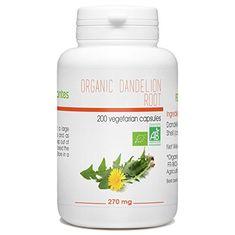 Organic Dandelion Root - 270mg - 200 vegetable capsules #Organic #Dandelion #Root #vegetable #capsules