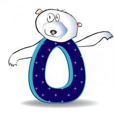 Alphabet latin — Wikimini, l'encyclopédie pour enfants Alphabet Latin, Images Alphabet, Smurfs, Symbols, Cartoon, Kids, Animals, Fictional Characters, Animal Themes