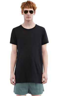 Acne Studios Ness black Oversized t-shirt