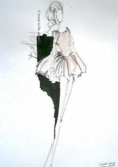 Catherine Amy Allison - Fashion Design Portfolio: Visual Studies & Fashion Drawing
