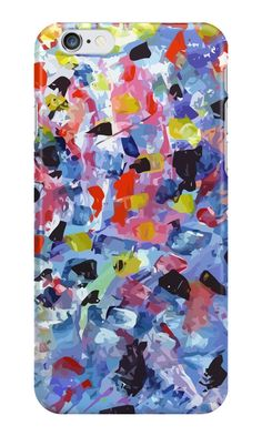 Abstract painting pattern colored by signorino