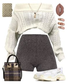 """""""Untitled #711"""" by za-r-ia ❤ liked on Polyvore featuring Balenciaga, LowLuv and Louis Vuitton"""