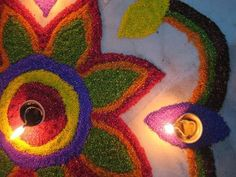 unique touch rangoli