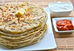 Me in blogland...: Recipe of the month - Aloo Paratha (Potato Stuffed Flatbread)