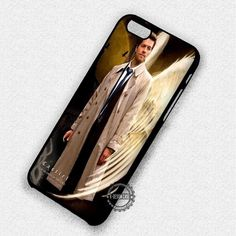 My Lovely Angel Supernatural Castiel, - iPhone 7 6 5 SE Cases & Covers