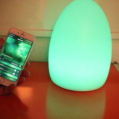 Elgato Avea Flare - Integrierte Weckfunktion wirft morgens sanft die Lampe an