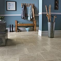 Featuring a realistic limestone design, Portland Stone combines warm beige and mid-grey tones. The colour tones and design are perfect for a modern country feel - an ideal combination of style and practicality. 🏡 Even better - this design is available in both a gluedown and rigid core format, so you can get the look you want in the format that works for your space. Brick Bonds, Portland Stone, Data Sheets, Simple Backgrounds, Stone Flooring, Modern Country, Tile Design, Apartment Ideas, Your Space