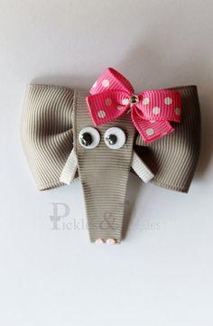 Elephant Clippie by picklesandpiggies on Etsy, $6.00
