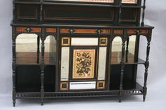 aesthetic movement furniture - Google SearchFine and Rare English Aesthetic Movement Cabinet OFFERED BY JAMES SANSUM INC. FINE AND DECORATIVE ART $18,750