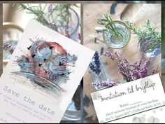 My Zero Waste Wedding // Eco Wedding Invitations - YouTube