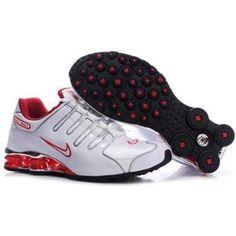 608c69ad76ea 378341 029 Nike Shox NZ White Red J04046 Mens Nike Shox