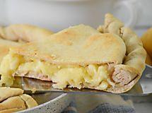 Torta rustica al formaggio in padella