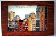 city of circumstances... framed